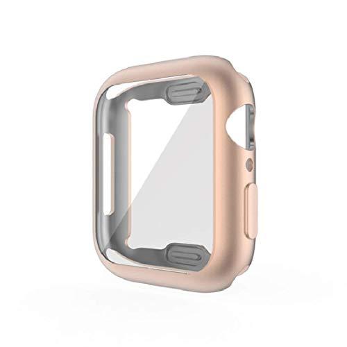 Protector de pantalla Funda de TPU 40 mm 44 mm Para Apple Watch iWatch SE 6 5 4, protectora de cubierta de parachoques de TPU suave,Accesorios de reloj inteligente de protección general ultradelgada