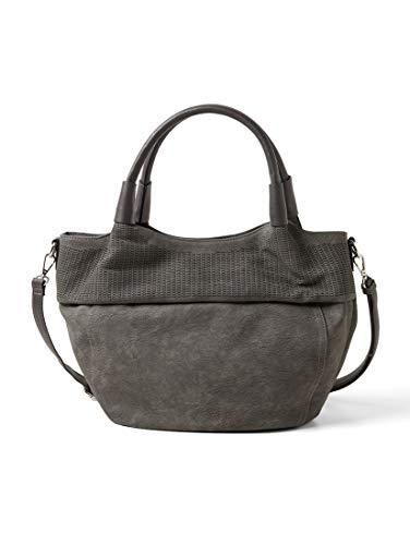 TOM TAILOR Damen Taschen & Geldbörsen Mittelgroßer Shopper Linsey grey,OneSize
