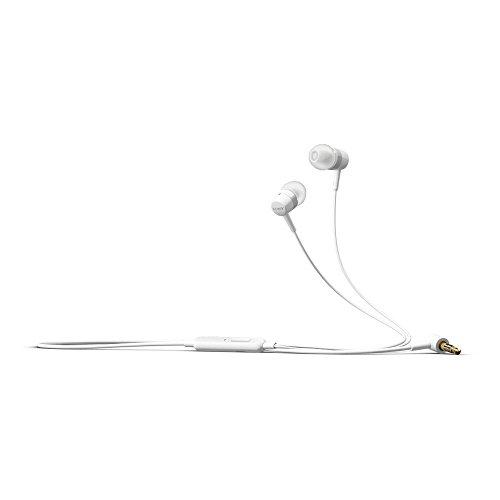 Original Sony Mobile Headset MH-750C Weiss für Sony Xperia XZ2 Compact Kopfhörer Ohrhörer In-Ear InEar Stereo + gratis Bildschirm Reinigungspad