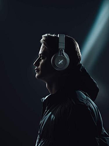 Kygo Xenon - Casque Circum-aural Bluetooth avec ANC (Bluetooth 5.0, réduction Active du Bruit, 24h d'autonomie, Micro, Commande vocale, Son AAC et aptX) Noir