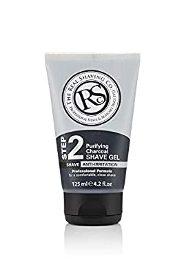 THE REAL SHAVING COMPANY Purifying Charcoal Shave Gel from Brand Architekts
