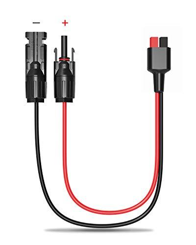 ALLPOWERS MC4 vers Anderson Power Pole Adaptateur Connecteur de câble de panneau solaire mâle et femelle Compatible