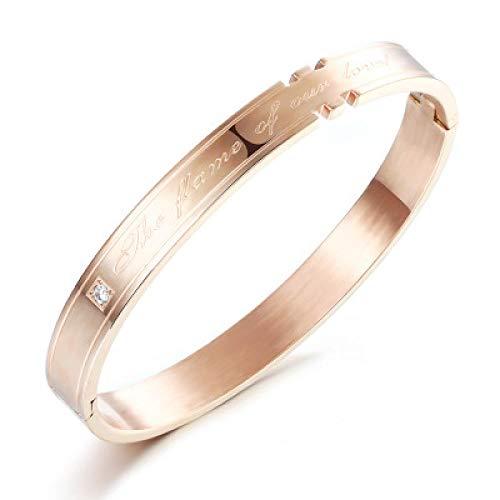 Armband Armbanden Link Armbanden Titanium Staal Armband Sieraden Paar Sieraden Surround Armband