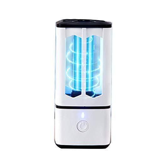 Lampada Germicida UV Portatile,Lampada Antiacaro All'ozono,Tasso Antibatterico 99%,Adatto per Casa, Auto, Ufficio,Viaggio d'Affari,Scuola