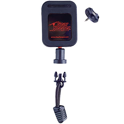 Gear Keeper Fire Mic Keeper, RT2-4022 - Lapel Microphone Retractor with Threaded Stud Mount - Made in the USA