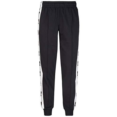 Kappa joggingbroek in Misto Cotone Uomo Cod. 304S5Q0 Black – White Maat: M