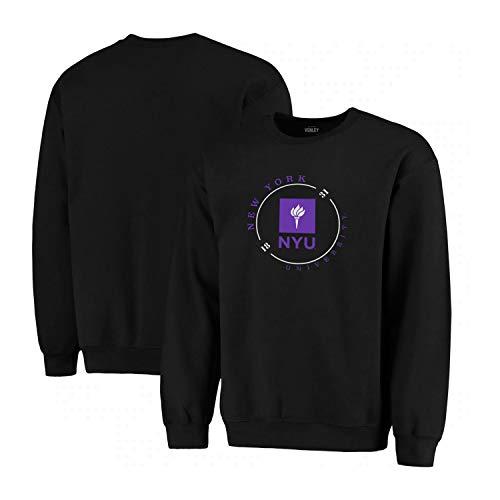 Official NCAA NYU Violets RYLNYU05 Mens//Womens Boyfriend Sweatshirt