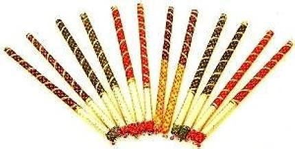 Dandiya Bhandani Sticks Set of 100 Pairs (200 pcs).