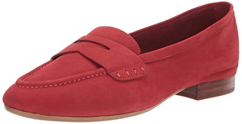 Price comparison product image Aerosoles Women's MAP Out Loafer Flat,  Dark Ornge Nubuck,  9 W US