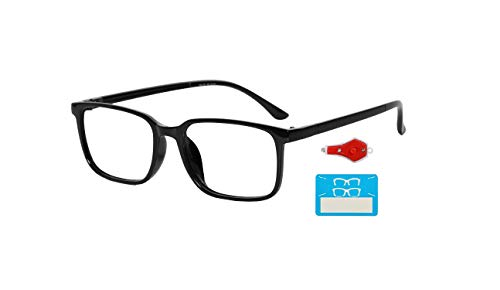 TAGGY® Premium Frame with Blue Ray Cut Block Anti glare Glasses Zero Power for Eye Protection from Computer Tablet Laptop Mobile Eyeglasses FOR men and women (normal) |60Mm|p-31