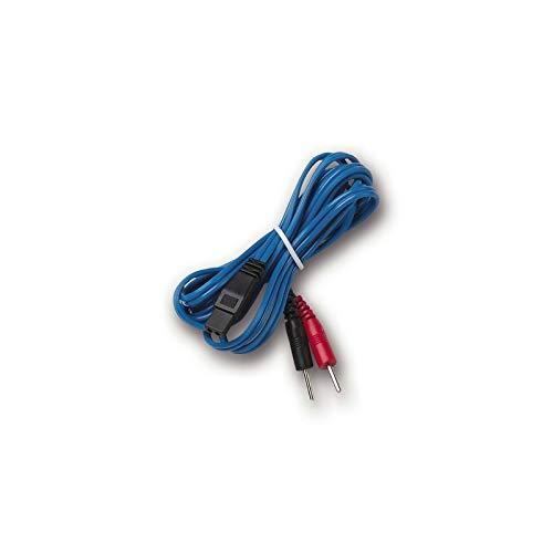 I-TECH – Cable con conector azul para T-One, repuestos para electroestimuladores