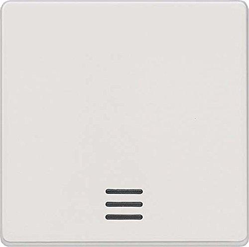 Bjc delta i-sys blanco SIEM Wippe 5TG6200 mit Fenster titanweiss, Mehrfarbig
