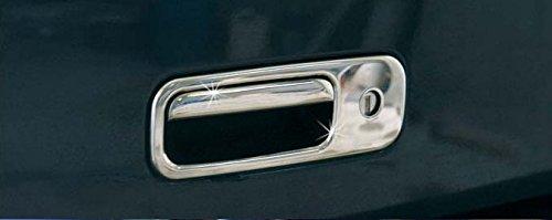 Chrom Kofferraumöffner Edelstahl für VW Golf 3 4 T5 Lupo Caddy 3 Sharan Polo 6N