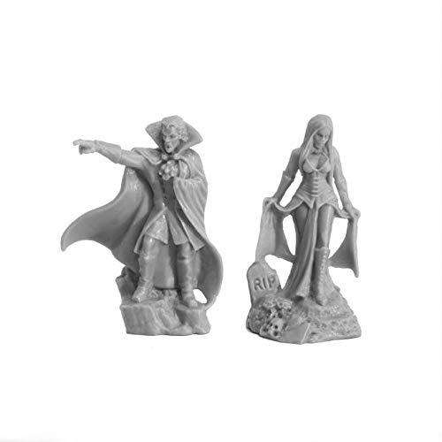 Pechetruite 1 x Vampire BLOODLORDS - Reaper Bones Miniatura para Juego de rol Guerra - 77727