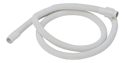 DREHFLEX - Ablaufschlauch Schmutzwasserschlauch Schlauch passt für diverse Geschirrspüler Spülmaschinen von Bauknecht Whirlpool Ignis Ikea etc. - passt für Teile-Nr. 481253029113
