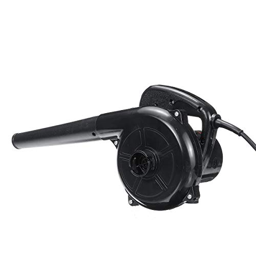 Soffiatore 700W elettrico del ventilatore di aria for computer giardino della casa del ventilatore di aria di vuoto collettore di polveri Aspirapolvere 110~240V Aspirafoglie (Color : Black)