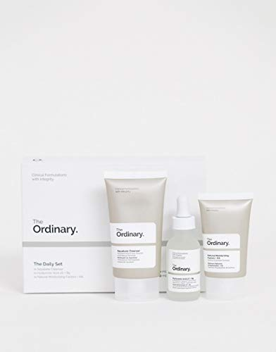 Price comparison product image The Ordinary The Daily Set (3 Pcs: The Ordinary Squalane Cleanser - The Ordinary Hyaluronic Acid 2% + B5 - The Ordinary Natural Moisturizing Factors + HA)
