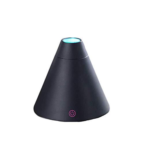LYN&xxx Mini humidificador Oficina Inicio hidratante Spray difusor USB silencioso humidificador Volcán,Negro