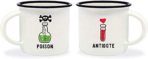 Tazzine da caffè Poison & Antidote Legami