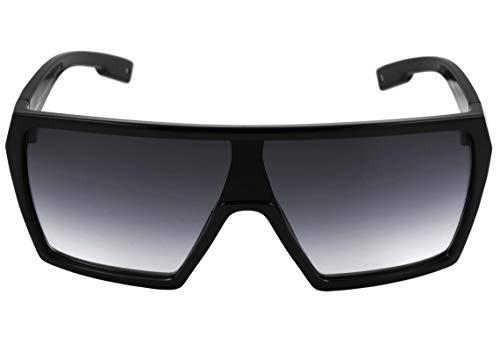 Óculos de sol Bionic Alfa, Evoke, Masculino, Preto Brilhante, Único