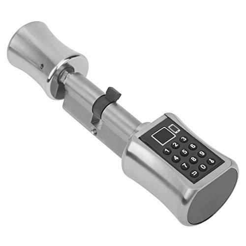 Cerradura de cilindro, cerraduras inteligentes, seguridad para el hogar, teclado digital, cerradura de hardware, para Tuya WiFi, contraseña, huella...