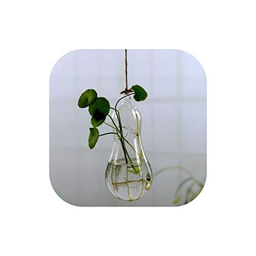 Gezellig Vesper Home DERC Colgantes de la Flor florero de Cristal Planta plantador terrario del jardín del envase Inicio decoración de la Boda, 7