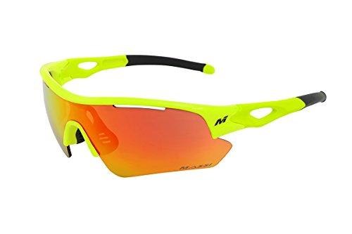 Massi 45870 Gafas, Unisex Adulto, Verde, Talla Única