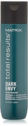 MATRIX Total Results Dark Envy Color-Depositing Green Shampoo, 10 Fl Oz
