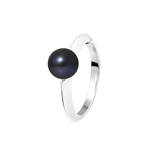 Pearls & Colors Mujer 9 k (375) oro blanco redonda Pearl