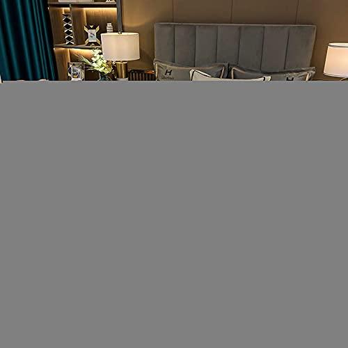 doudouJF Juego de Ropa de Cama con,Primavera y Verano Nueva luz de Lujo Lavado de Agua Seda Series de Cuatro Piezas de Seda 1,5 m (5 pies) Cama-Blanco_2.0m