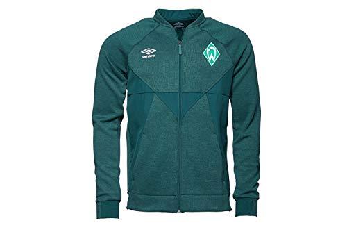 Werder Bremen Umbro Presentationsjacke Jacke (M, grün)