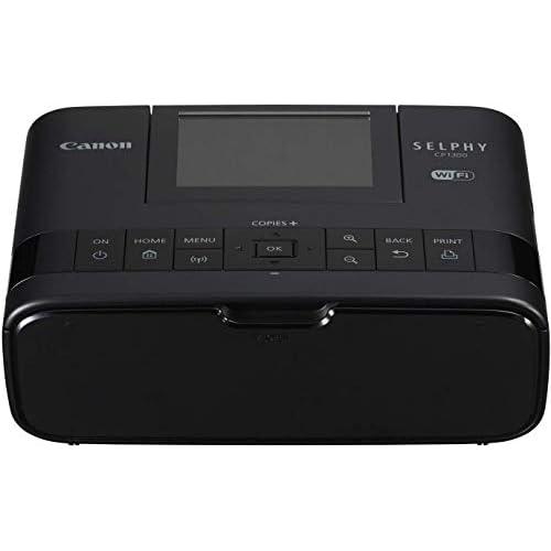 Canon Italia Selphy Cp1300 Stampante Portatile Wi-Fi, Nero