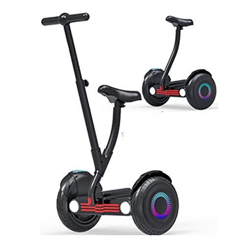 Patinetes Acrobacias Electricos Adultos Ninas Adolescentes Scooter Autoequilibrado Inteligente De 10 Pulgadas,Black,36V500W