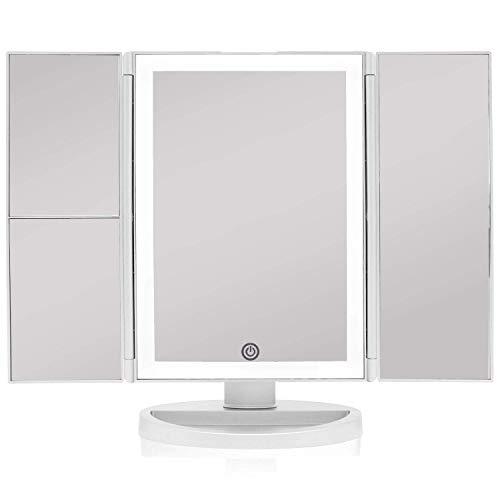 Beautyworks Backlit Makeup Vanity Mirror 36 LED...