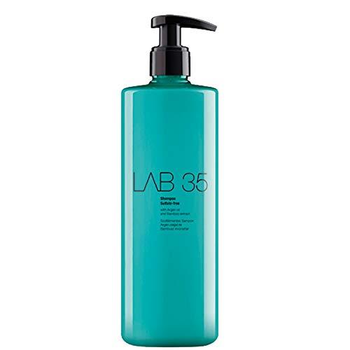 Kallos Lab35 Sulfatfreies Shampoo für coloriertes Haar mit Arganöl und Bambusextrakt, 500 ml