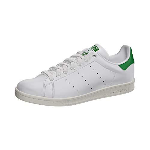 adidas Originals - Zapatillas deportivas Stan Smith, Blanco (blanco), 44 2/3 EU