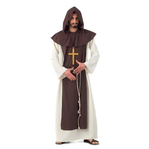 Moyen Âge - Moine Cistercien - Déguisement Homme - S