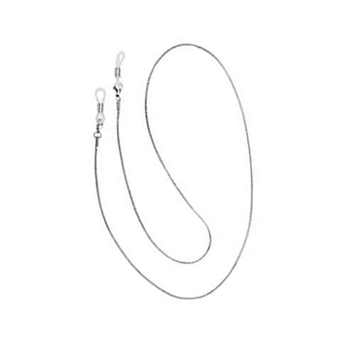 zhibeisai Gafas de Sol de la Correa Antideslizante Cuello del cordón de Las Lentes de Cobre Cadena Cuerda de Seguridad Titular 1.2mm 70cm