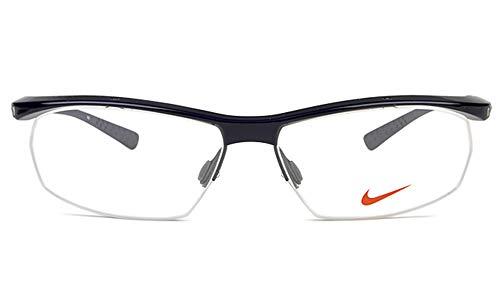 Nike Herren 7070/3 019 57 Brillengestelle, Schwarz (Obsidian)