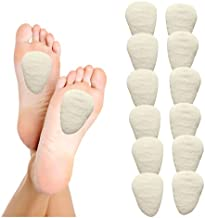 Metatarsal Foot Pain Relief Cushion, Foot Pads and Shoe Inserts Orthotics for Metatarsalgia Topical Pain Relief, Ball of Foot Cushion and Insoles for Morton's Neuroma, Medium Metatarsal Pads by Hapad