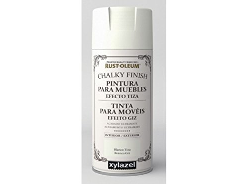 Spray Efecto Tiza Chalk Paint Rust-Oleum Xylazel - 801 Blanco Tiza