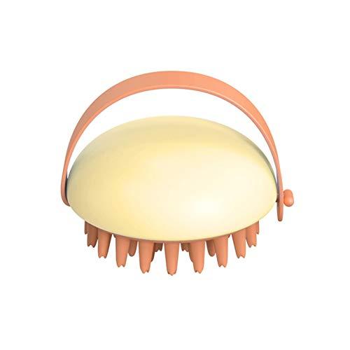 Strety Cepillo de champú para cuero cabelludo manual de masaje para cuero cabelludo El material ABS se puede utilizar para exfoliar y eliminar la caspa para promover el crecimiento del cabello