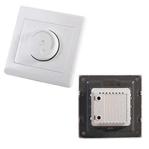 Meiyya Interruptor atenuador, Distancia de detección Interruptor atenuador de Pared, Ahorro de energía Fácil de Instalar Escaleras para baños Inodoros Pasillos
