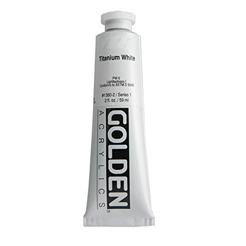 Golden Heavy Body Acrylic Paints 59ML Grey(Titanium White)