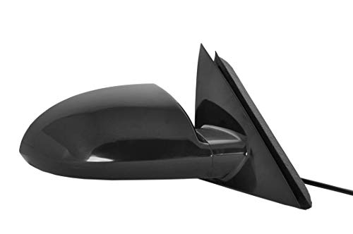 Right Passenger Side Mirror for Chevy Impala (2006 - 2013), Impala Limited (2014 2015 2016) Unpainted Power Operated Non-Heated Non-Folding Door Mirror - GM1321306