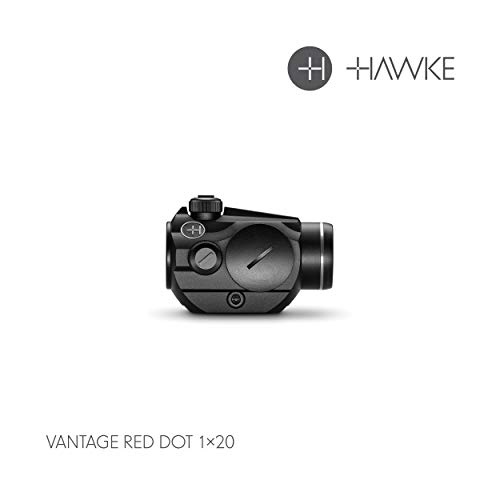 Hawke 1X20, 3 MOA-11 Stage Brightness Vantage Zielfernrohr, schwarz, M