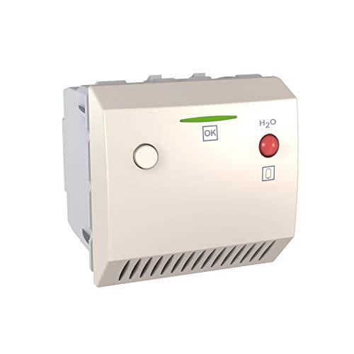 Schneider ELEC ppm–SAE 9140–Rauchmelder Überschwemmung 12V AC/Gleichstrom Elfenbein