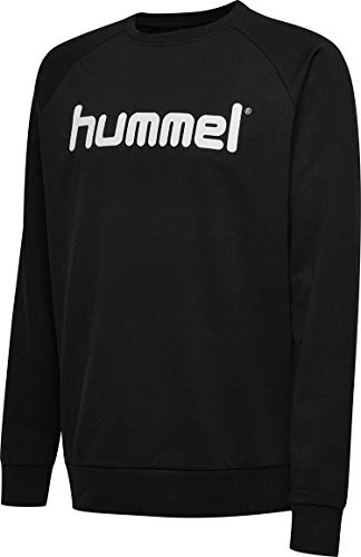 Hummel Kinder HMLGO KIDS COTTON LOGO Sweatshirt, Schwarz, 164