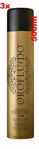 Orofluido Strong Hold Haarspray 3x 500ml = 1500ml