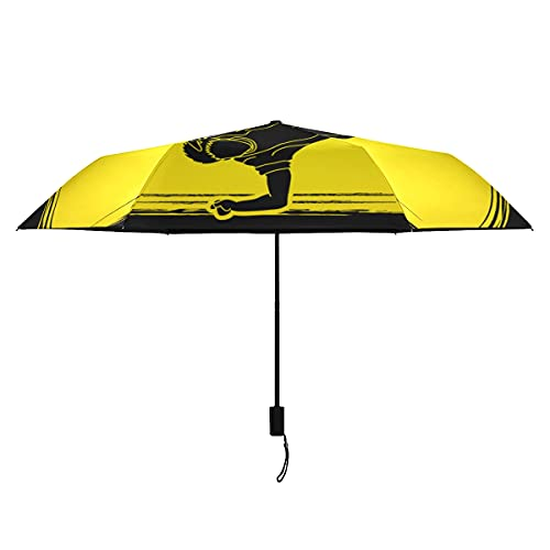Paraguas para niños bailarín Hip Hop Street Dance B Paraguas portátil ligero a prueba de viento paraguas niños sol lluvia perfecta paraguas plegable para mujeres